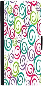 Snoogg Floral Seamless Pattern Designer Protective Phone Flip Case Cover For Xiaomi Redmi Note Prime