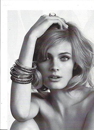 PRINT AD With Joan Smalls For 2011 David Yurman Bracelet Jewelry