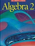 Holt Algebra 2: Student Edition Algebra 2 2003