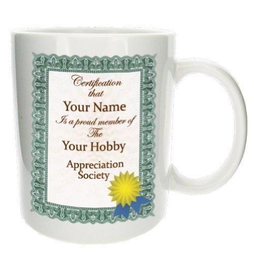 'Certification Of...' Personalised Funny Office Tea Coffee Gift Mug - Mugsnki...