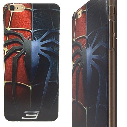 Superhero Clip-On Case for iPhone 6 Plus and 6s Plus (Split Spiderman)