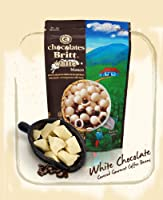 White Chocolate Covered Gourmet Coffee Beans From Costa Rica