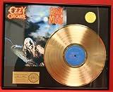 OZZY OSBOURNE CUSTOM FRAMED PREMIUM 24kt GOLD AWARD QUALITY RECORD DISPLAY***FREE PRIORITY SHIPPING***