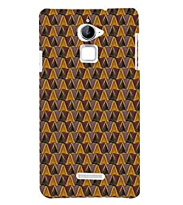 Colourful Pattern 3D Hard Polycarbonate Designer Back Case Cover for Coolpad Note 3 Lite :: Coolpad Note 3 Lite Dual SIM