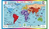 Tot Talk Explore the World Placemat