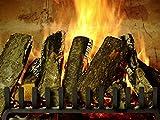 Kaminfeuer-Entspannung-Einschlafen