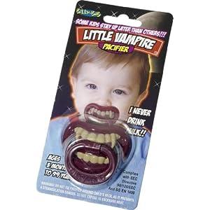 Little Vampire Infant/Toddler Pacifier