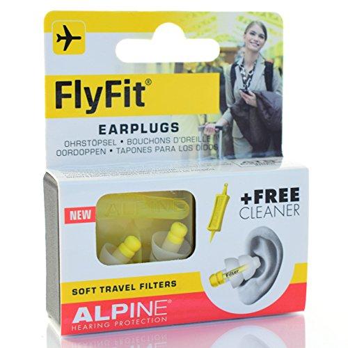 Lot-de-5-Alpine-FlyFit-druckausgleichende-de-voyage-5-x-2-Bouchons-doreille
