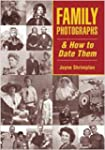 Family Photographs and How to Date Th...
