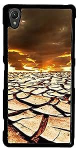 inktree Back Cover For Sony xperia Z1 (Black, ink_Z1_360)