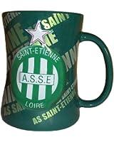 Mug Tasse à café thé Cappuccino - Collection officielle ASSE AS SAINT ETIENNE - Football Ligue 1 - Vaisselle ceramique