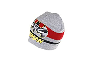 DC COMICS Gorro Batman Stripe (Gris)