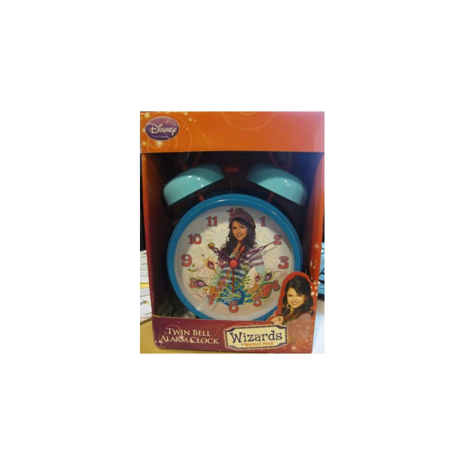 of Waverly Place Selena Gomez Twin Bell Alarm Clock Home & Kitchen