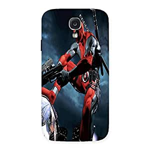 Ajay Enterprises Eli Pooling Kick Back Case Cover for Samsung Galaxy S4