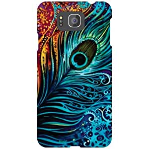Printland Feather Back Cover For Samsung Galaxy Alpha G850