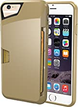 "iPhone 6 Wallet Case - Vault Slim Wallet for iPhone 6 (4.7"") by Silk - Ultra Slim Protective Wallet Cover (Champagne Gold)"