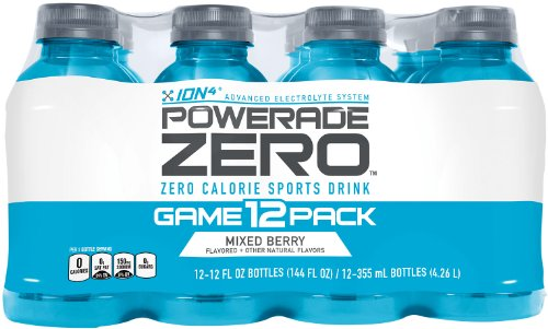 Powerade Zero Mixed Berry, 12 Ct, 12 Fl Oz Bottle