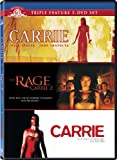 NEW Carrie Triple Feature (DVD)