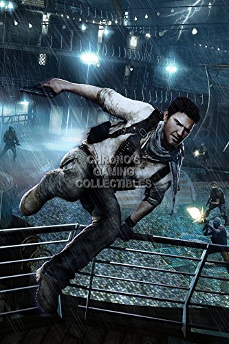 """CGC enorme-Poster Uncharted 3Drake Deception Drake-PS3PS4-uch033, Carta, 24"""" x 36"""" (61cm x 91.5cm)"""