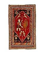 Kilim Carpets by Jalal Alfombra Gashgai (Rojo/Negro)