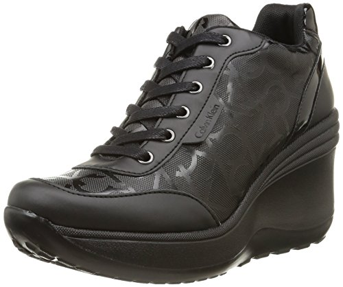 Calvin Klein Jeans - Jamie, Sneakers da donna, Nero (Nero (Blk)), 39