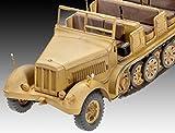 Revell-03210-Modellbausatz-Sonderkraftfahrzeuge-7-und-88-cm-Flak-37-im-Mastab-172