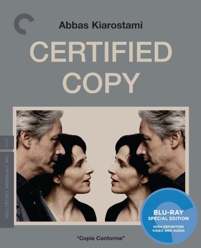 Cover art for  Certified Copy (The Criterion Collection) [Blu-ray]