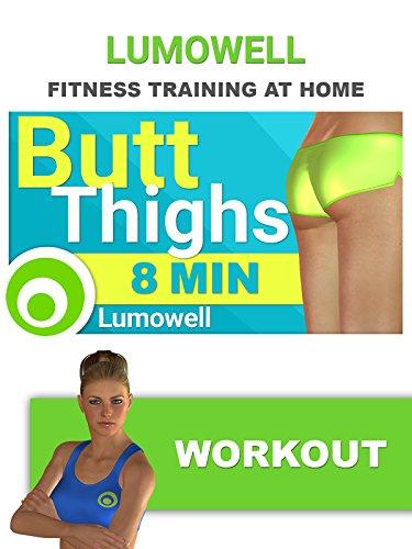 8 Minute BUTT & THIGHS Workout for Beginner