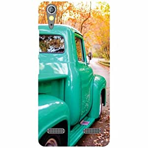 Lenovo A6000Science Of Back Cover - Matte Finish Phone Cover