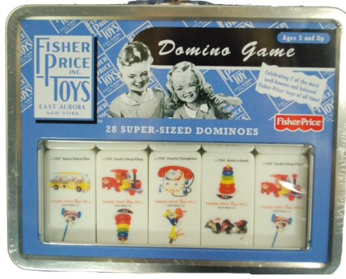 Fisher-Price Classic Domino Game 28-Piece - 1