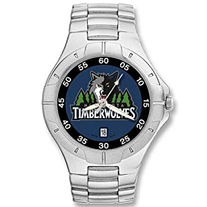 NSNSW22848Q-Minnesota Timberwolves Watch - Mens Pro Ii Nba Sport by NBA Officially Licensed