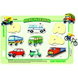 Creative's Play 'N' Learn - Land Transport, Multi Color