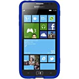Amzer Hybrid TPU Case Cover for Samsung ATIV S - Translucent Blue