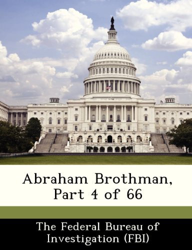 Abraham Brothman, Part 4 of 66