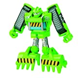 Transformers Rescue Bots Playskool Heroes Boulder The Construction Bot Figure