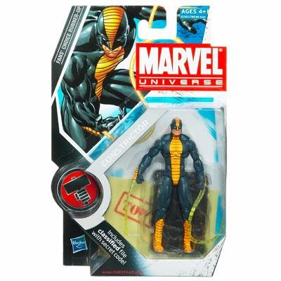 Marvel Universe Series 2 Action Figure #25 Constrictor 3.75 Inch