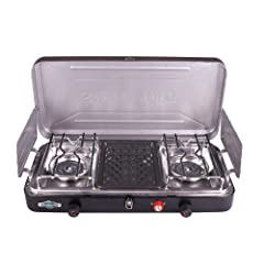 Stansport 212-600 Outfitter Series 55K B.T.U. Output Propane Stove by StanSport