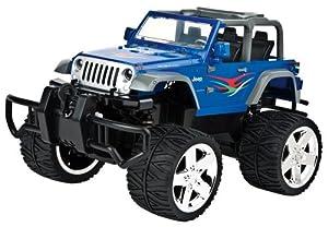 Carrera RC 370160002 - Jeep Wrangler mit Seilwinde blau