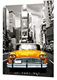GB eye Ltd, A3 3d Poster, New York, Taxi No. 1, (29.7x 42cm)