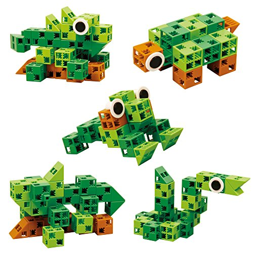 Click-A-Brick-Toys-Rainforest-Rascals-30pc-Building-Block-Set-Best-Educational-Gift-for-Boys-and-Girls-Gear-Kids-Up-for-STEM-Learning-Imagination-Engineering-Fun-Create-Endless-Combinations