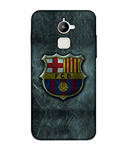 chnno Fcb 3D Printed Back cover for Coolpad Note 3 Lite -Multicolor