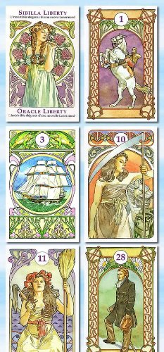 esoterik-lenormandkarten-jugendstil-sibilla-liberty-oracle-liberty