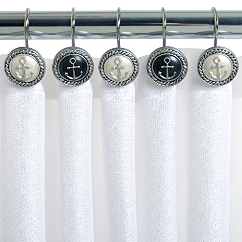 Navy Blue Velvet Curtains Fleur De Lis Shower Curtai