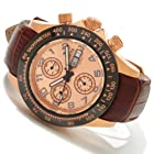 Invicta Mens Reserve Speedway Swiss Valjoux 7750 18k RGP Watch 10942