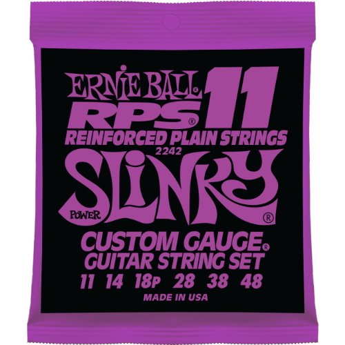 Ernie Ball 2242 Rps-11 Slinky Nickel Wound Set (11 - 48)
