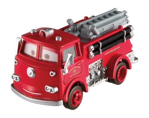 Disney Pixar Cars 2 Oversized Die-Cast Vehicle - Red - 1