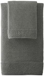 Kassatex NAT-256-STE Naturel Towel Set, Steel