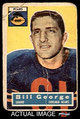 1956 Topps # 47 Bill George Chicago Bears (Football Card) Dean's Cards 1 - POOR
