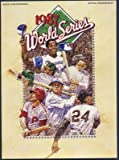 1987 MLB World Series Minnesota Twins vs St. Louis Cardinals Official Program