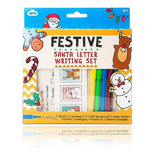 NPW Festive Santa Letter Writing Set - 1